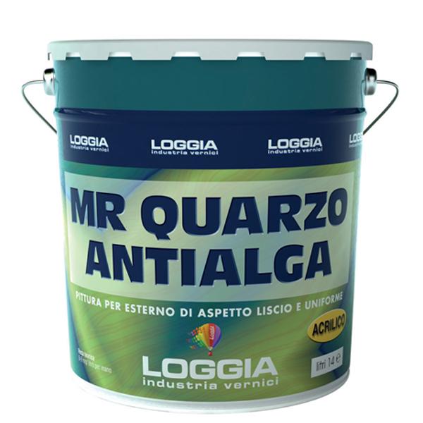 Pittura acrilica mr quarzo antialga pitture e decorativi for Esterno quarzo